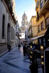 The marble streets and delightful atmosphere of Malaga
