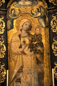 Mary, Rescued Fresco