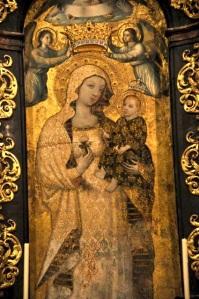 Mary, Rescued Fresco