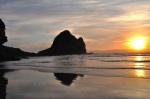 Sunset, Piha 1