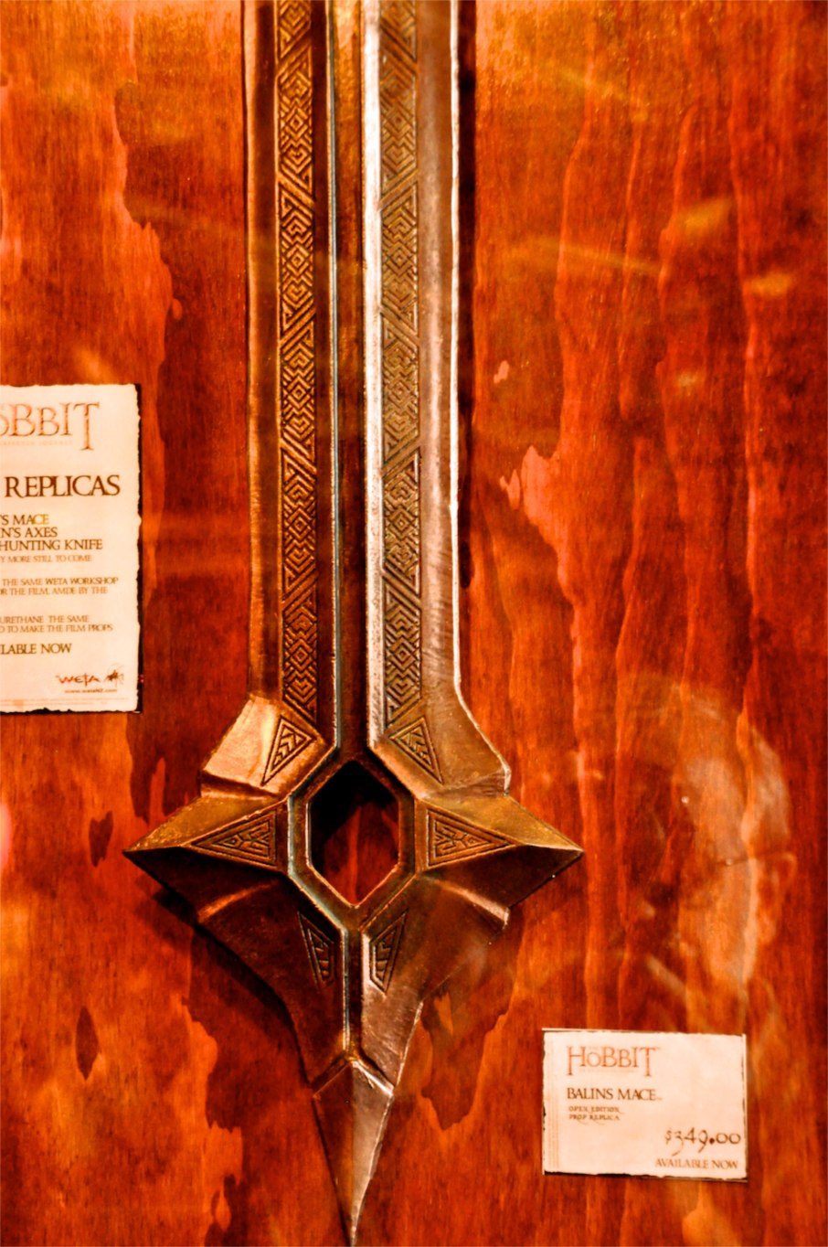 Hobbit - Balin's Mace detail