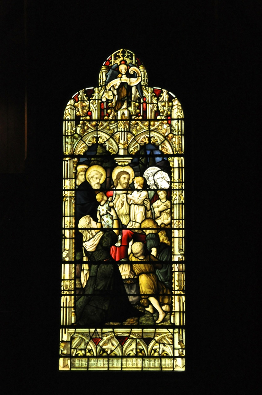 St Paul window
