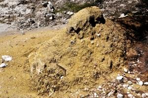 Sulfur knob