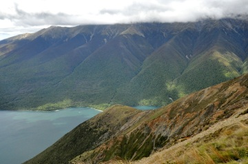 Clouds obscure St Arnaud
