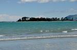 Nelson Beach, island