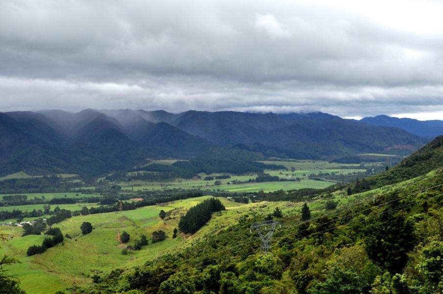 Golden Bay plain, high up
