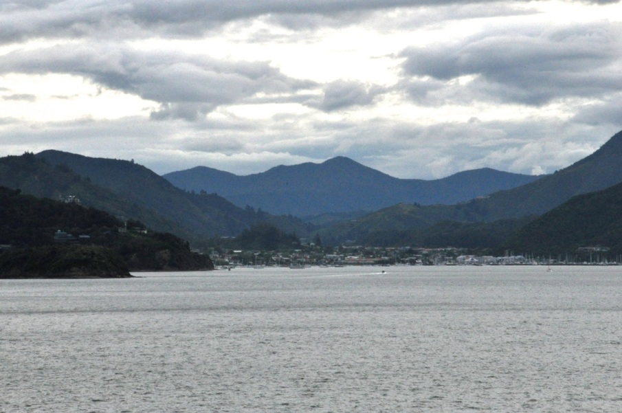 Picton from ferry
