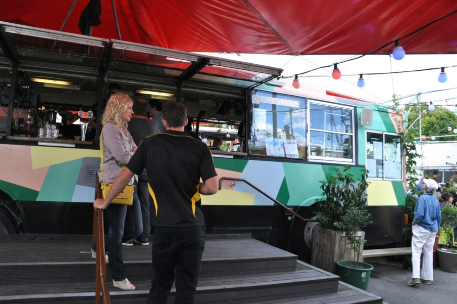 Converted Bus Cafe