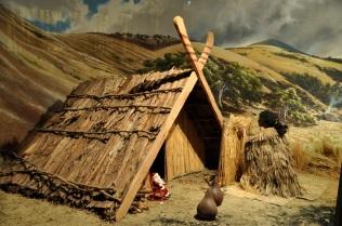 Maori diorama