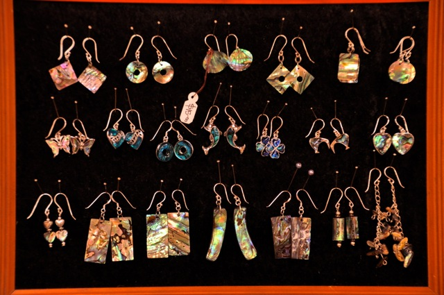Paua jewelry