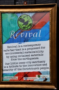 Revival from debris