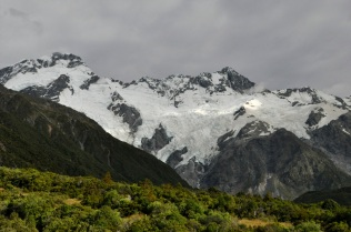 Mt Seftin and its glaciers