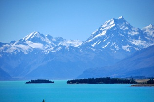 Mt Cook and Pukaki