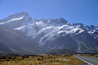 Glaciers on the mountain