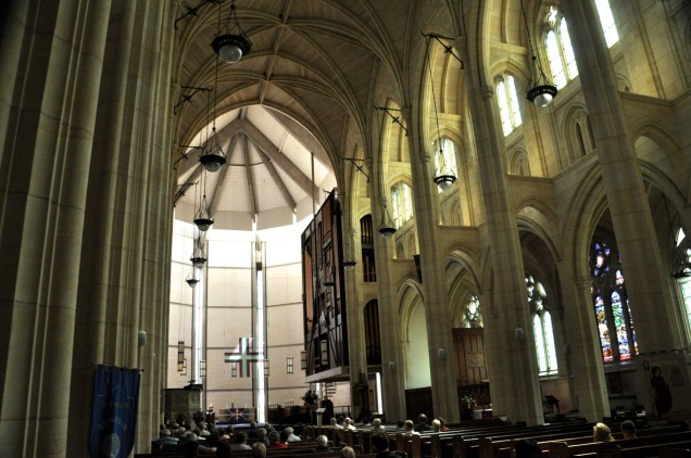 Gothic Revival nave
