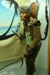 Warrior from Tuvalu, an atoll