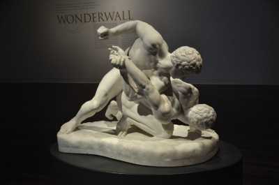 The Wrestlers, copy of 3rd Century Greek statue