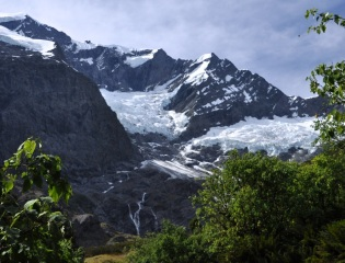 And more glacier, and more waterfalls