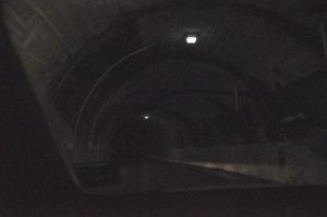 Inside the Homer Tunnel