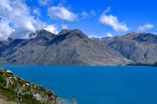 The beautiful Lake Wakatipu