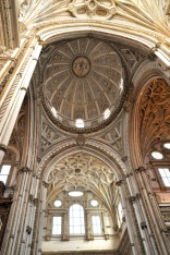 Beautiful cathedral dome and ceilings