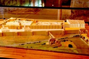 Model of the Alcazar, 900's