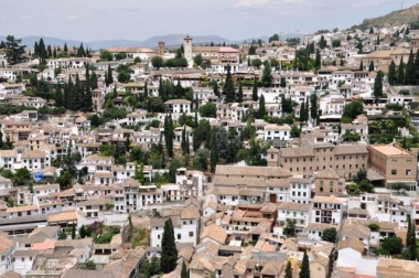 The Albayzin, taken from the Alhambra