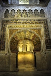 The  mihrab, in all its glory