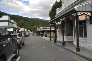 Arrowtown main street