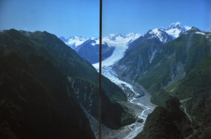 Brochure picture of Fox Glacier