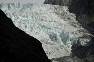 Franz Josef glacier front
