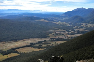 View to the right of St Arnaud