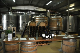 Alpha Domus winery (very small!)