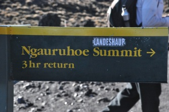 Trail to Mt. Ngauruhoe crater rim