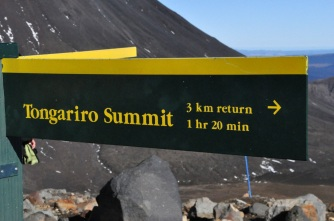 Side trail to Mt. Tongariro