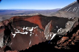 The Red Crater; or at least, one of its walls