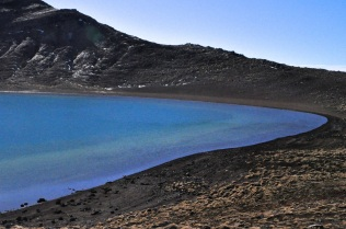 Blue Lake's multicolored periphery