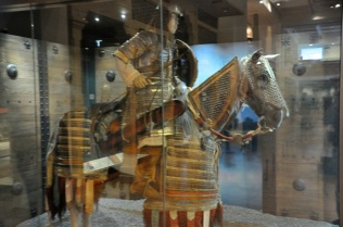 Mongolian heavy cavalryman, around 1400's