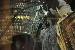 Detail of lamellar armor