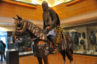 Indian heavy cavalry, with mail and plate armor, early 1600's