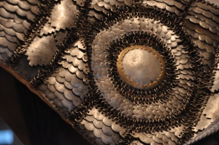 Detail of Indian horse armor