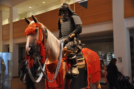Japanese armor of a middle-ranking samurai from the late 1700's