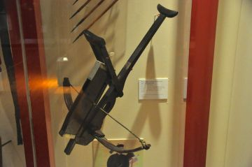 Repeating crossbow, China, 1800's