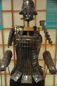 Japanese laquered lamellar plate armor, mid 1500's
