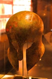 """Corinthian"" Helmet, Greek, 650 BC"