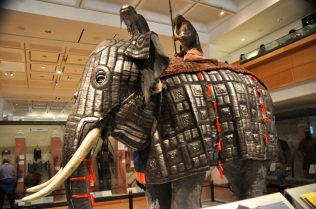Elephant armor, India, about 1600