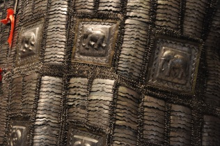 Detail of Indian elephant armor
