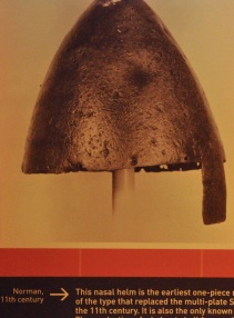 Picture of Norman one-piece iron helmet, 11th century