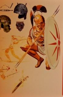 Roman legionaire, around 300 BC.
