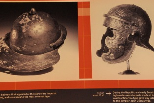Images of Roman helmets